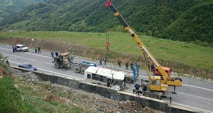 Авария в Южной Осетии