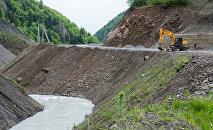 Строительство дороги в Гуфта - Кемулта