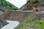 Строительство дороги в Квайса