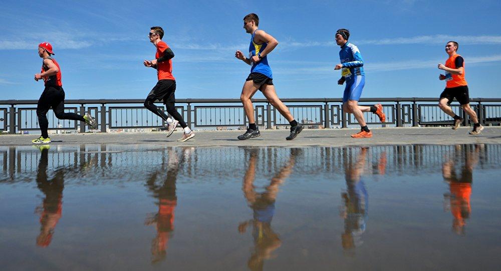 Всероссийские соревнования Казанский марафон-2016