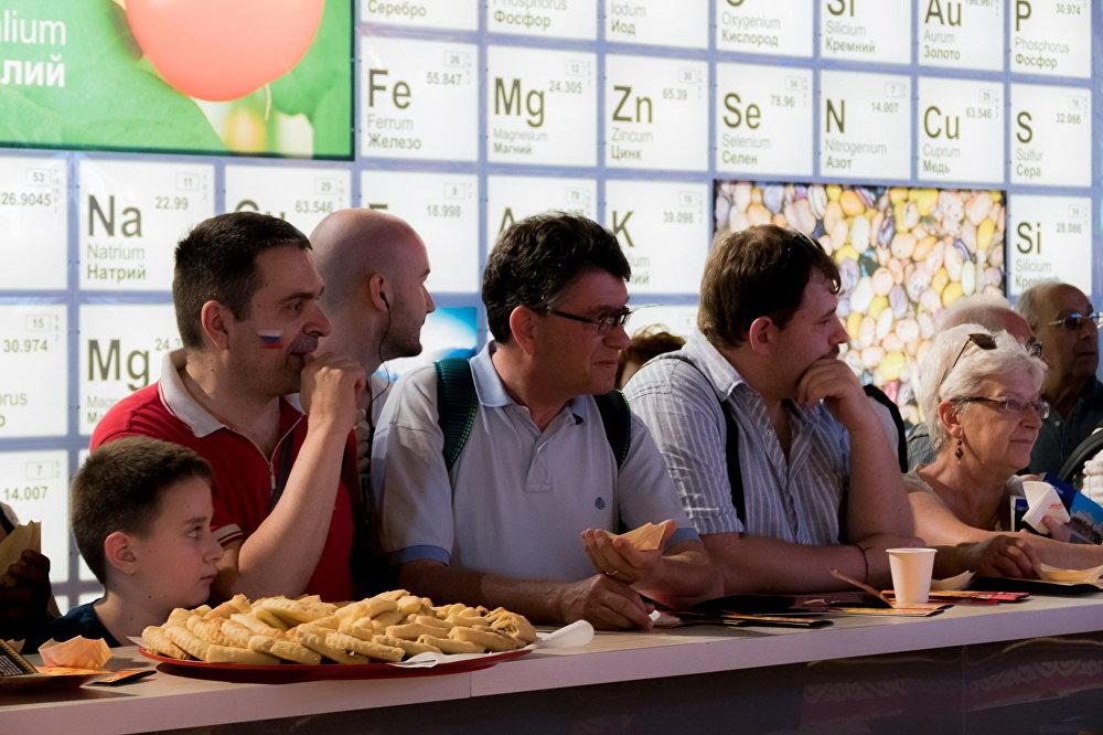 Осетинские пироги были представлены в рамках российского павильона