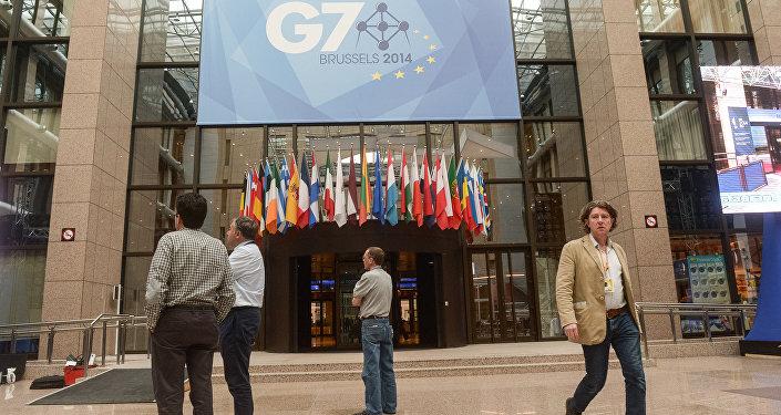 Подготовка к открытию саммита стран G7