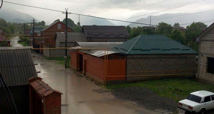 Последствия ливней во Владикавказе