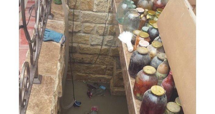 Затопленные подвалы во Владикавказе