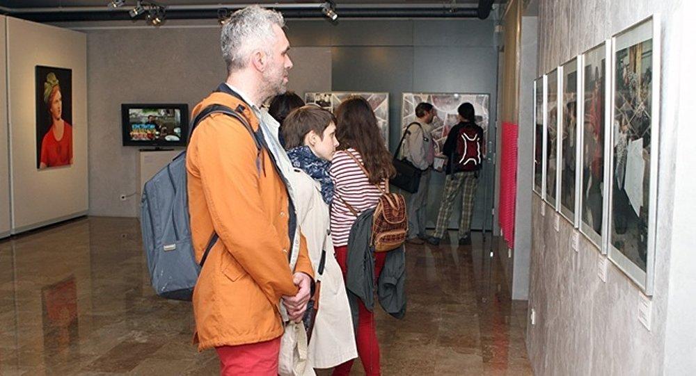 Выставка в Новом музее