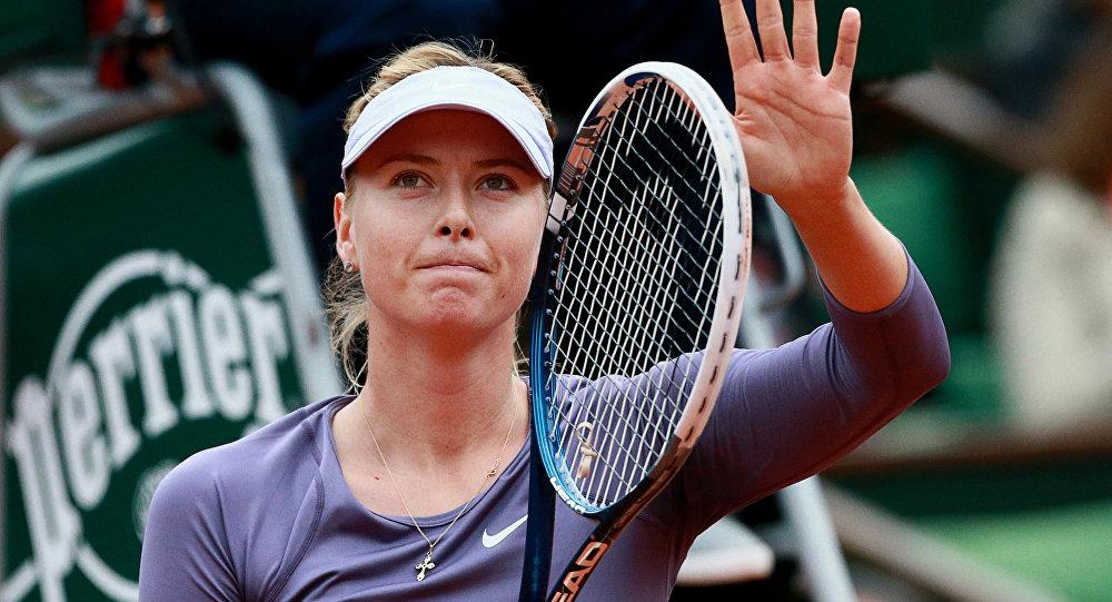 Российская спортсменка Мария Шарапова