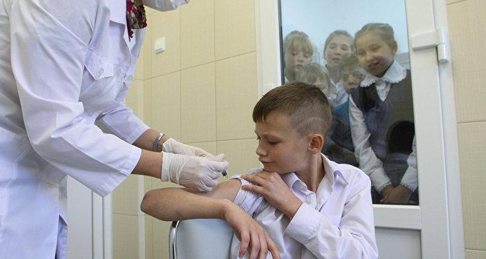 Вакцинация против гриппа в Калининграде