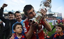 Алан Дзагоев в составе ЦСКА выиграл чемпионат России
