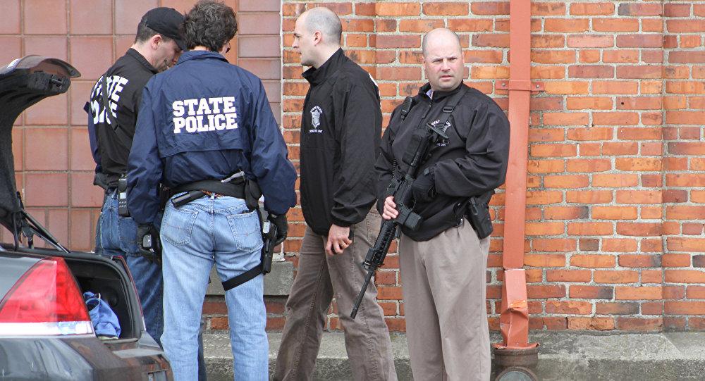 Совместная спецоперация полиции региона, ФБР и спецназа, архивное фото.