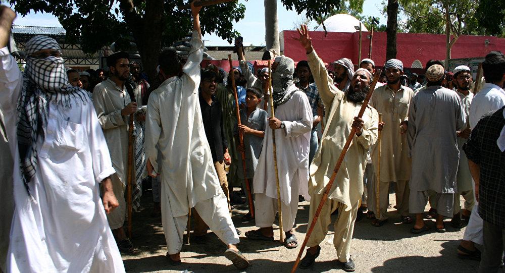 Противостояние радикальных исламистов и сил правопорядка