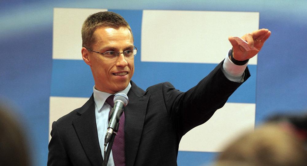 Министр иностранных дел Финляндии Александр Стубб