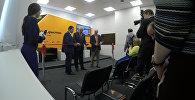 Мультимедийный центр Sputnik в Цхинвале. Кадры открытия
