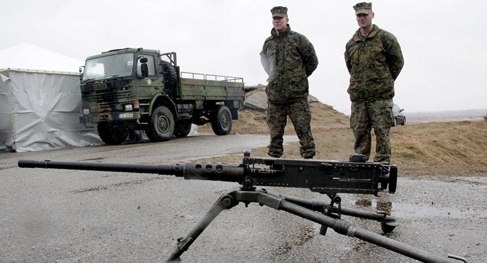 Батальон США разместится в60км от РФ уже зимой