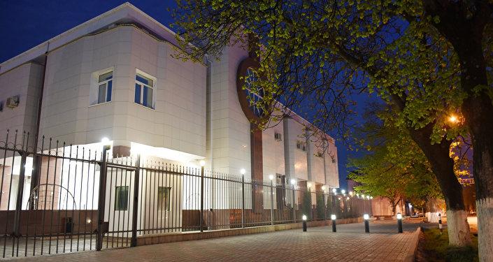 Здание Национального банка Южной Осетии