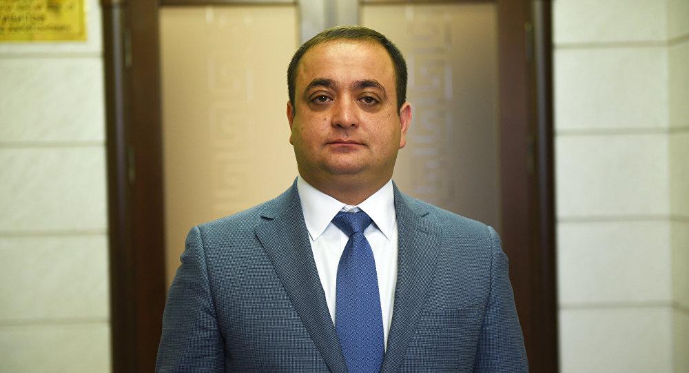 Посол Южной Осетии в России Знаур Гассиев