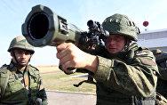 """Совместные российско-индийские учения """"Индра-2014"""""""