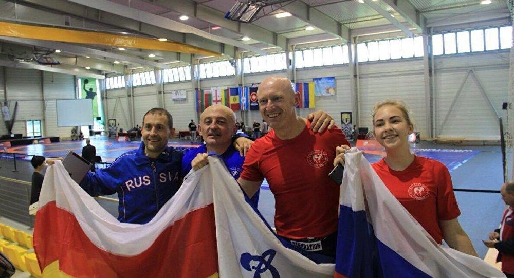 Спортсмены на чемпионате в Венгрии