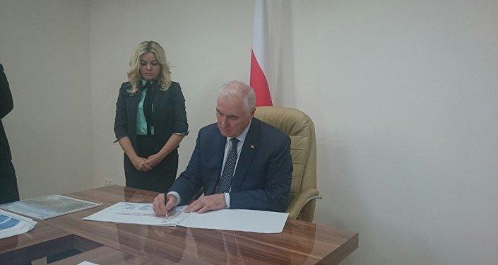 Тибилов утвердил план газификации РЮО