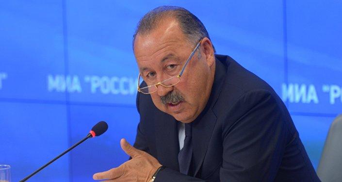 Пресс-конференция В.Газзаева
