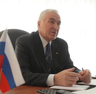 Президент Южной Осетии Леонид Тибилов
