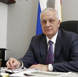 Глава РСО-Алания Тамерлан Агузаров