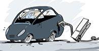 Россия и ряд стран ОПЕК договорились заморозить уровень добычи нефти