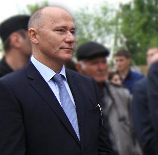 Глава КГБ РЮО Виктор Шаргаев.