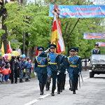 В параде Победы в Цхинвале приняло участие более 800 югоосетинских и российских военнослужащих