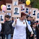В акции приняли участие сотни цхинвальцев всех поколений