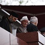 В Южной Осетии проживает 61 ветеран ВОВ. Не все из них смогли прийти на парад