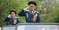 В Цхинвале прошел военный парад