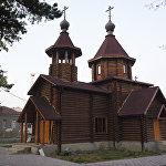 Храм Успения Пресвятой Богородицы в поселке Знаур