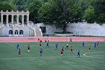 Товарищеский матч по футболу в Цхинвале