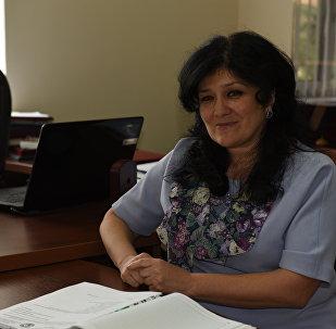 Министр образования РЮО Гассиева Натали