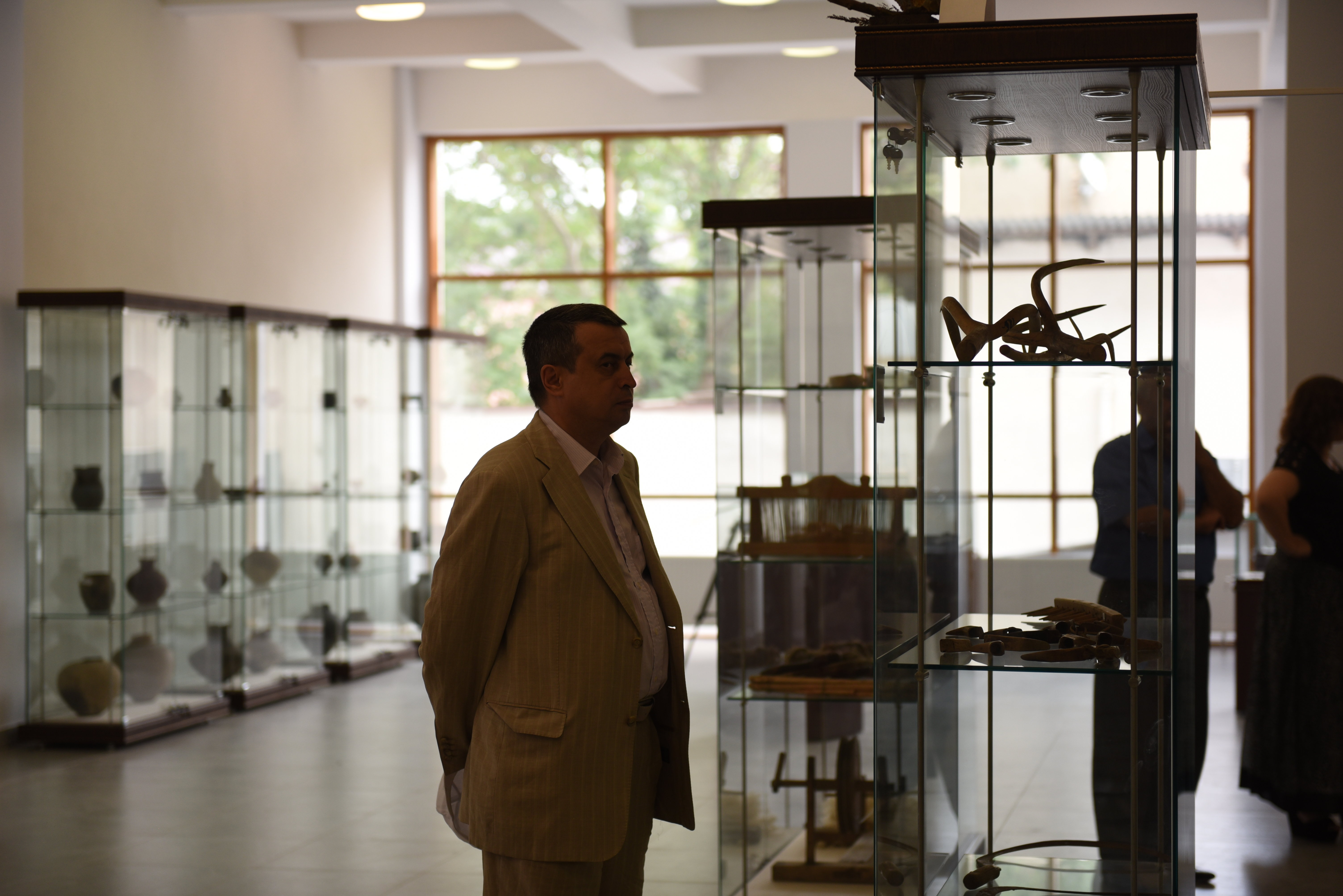 Делегация общественной организации Союз народов Самарской области посетила Национальный музей в Цхинвале