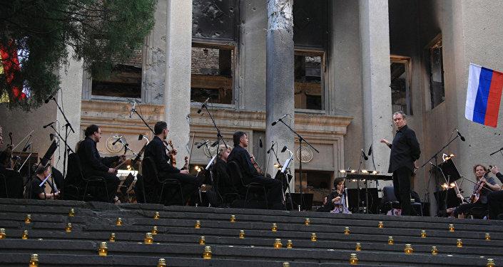Концерт Валерия Гергиева памяти погибших в Южной Осетии