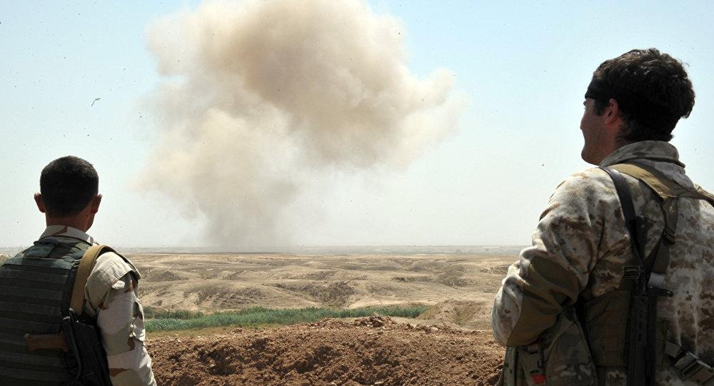 Бойцы курдских вооруженных сил
