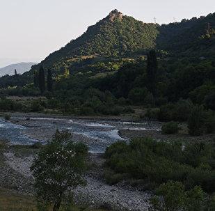 Крепость в Ленингорском районе близ села Ларгвис