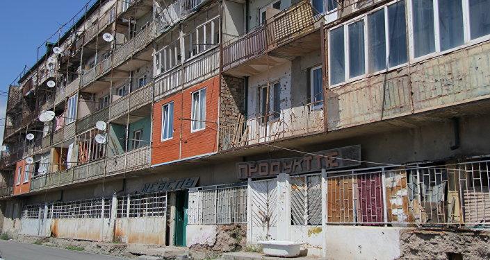 Аварийное жилье на южной окраине Цхинвале