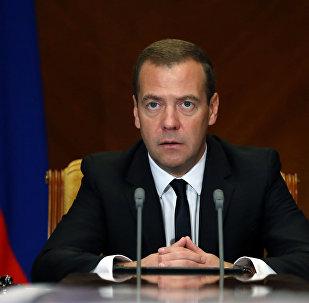 Премьер-министр РФ Д.Медведев провел заседание Правительственной комиссии по вопросам охраны здоровья граждан