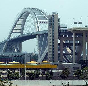 Мост Лупу в Шанхае