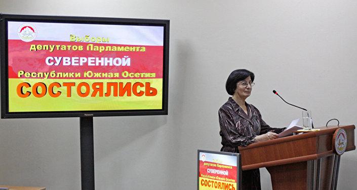 Председатель Центральной избирательной комиссии Республики Южная Осетия Белла Плиева