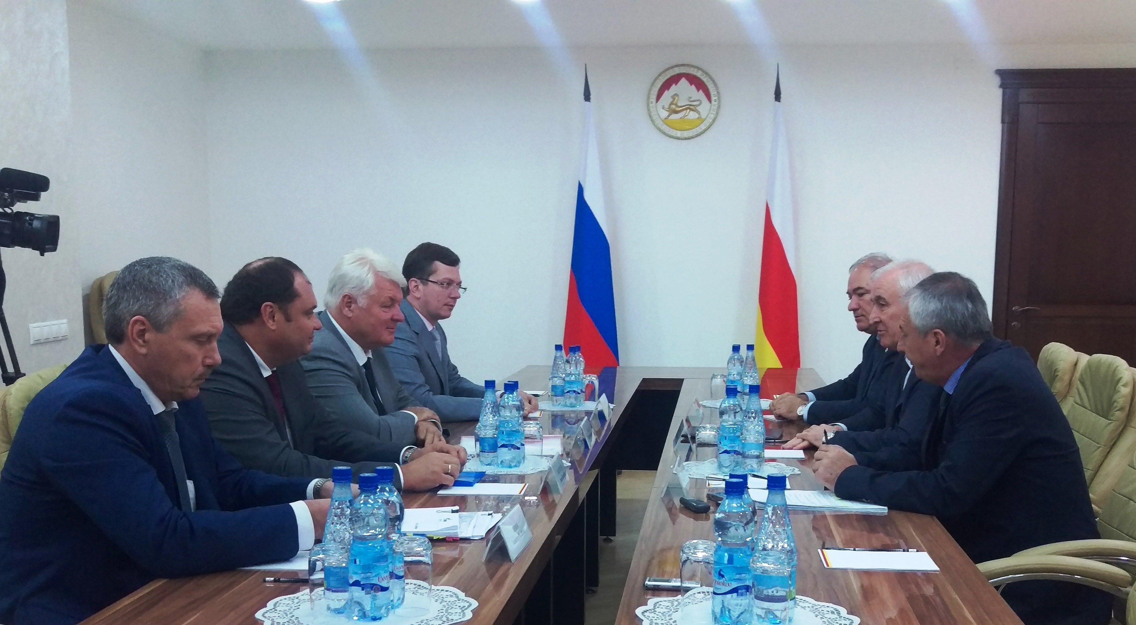 Встреча с делегацией Газпрома