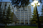 Здание Правительства в Цхинвале