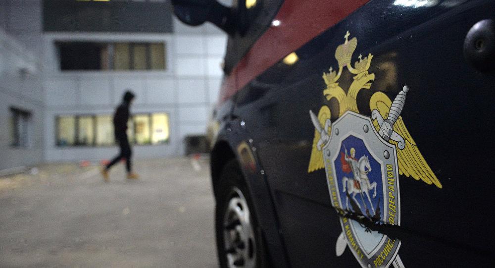 Автомобиль следственного комитета СК РФ