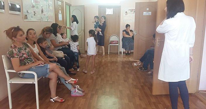 Детская поликлиника в Цхинвале