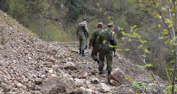 Граница между Грузией и Южной Осетией