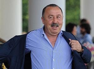 Президент футбольного клуба Алания Валерий Газзаев