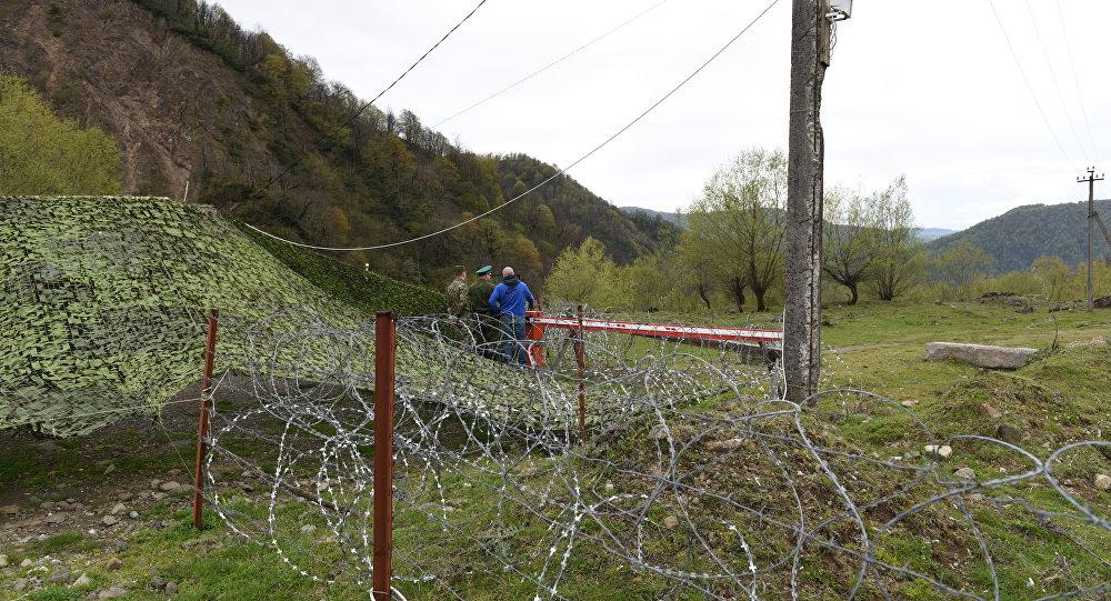 Государственная граница Южной Осетии с Грузией