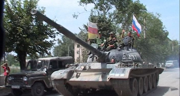 Части 58-й армии и ВДВ пришли на помощь обороняющемуся Цхинвалу